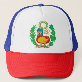 Peru - Escudo Nacional (National Emblem) Trucker Hat