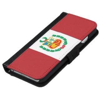 Peru Flag iPhone 6 Wallet Case