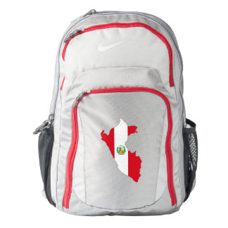 Peru Flag/Map Backpack