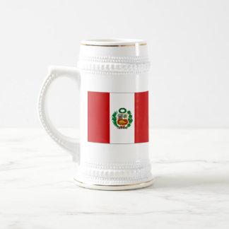 Peru Flag ~ Map Mug