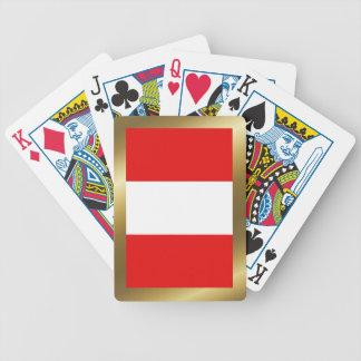 Peru Flag Playing Cards