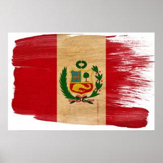 Peru Flag Posters