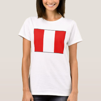 Peru Flag x Map T-Shirt
