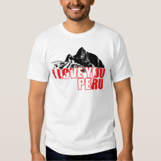 Peru I Love You - InKa1821 Label T Shirt