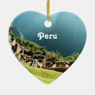 Peru Landscape Christmas Ornament