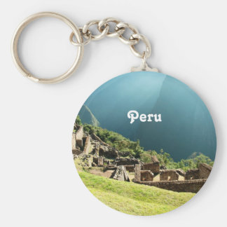 Peru Landscape Key Ring