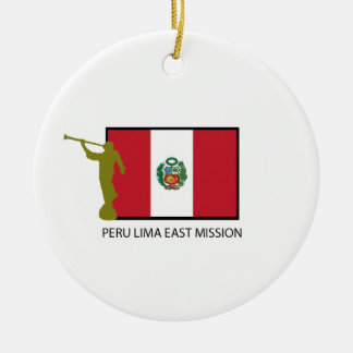 PERU LIMA EAST MISSION LDS CTR CHRISTMAS ORNAMENT