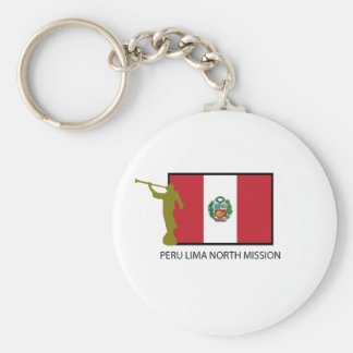 PERU LIMA NORTH MISSION LDS CTR KEY RING