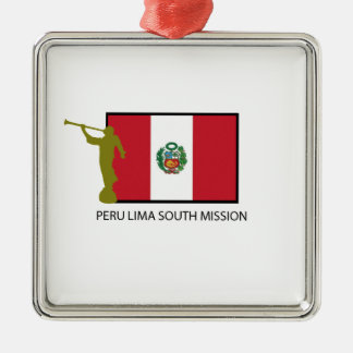 PERU LIMA SOUTH MISSION LDS CTR CHRISTMAS ORNAMENT