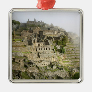 Peru, Machu Picchu. The ancient citadel of Machu Christmas Ornament