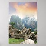 Peru, Machu Picchu, the ancient lost city of