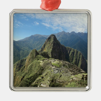 Peru, Machu Picchu, the ancient lost city of 3 Christmas Ornament