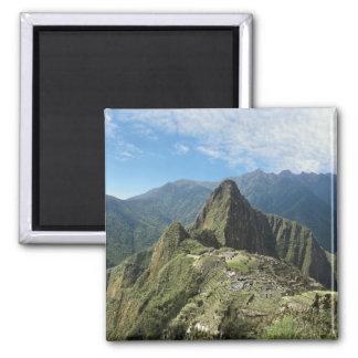 Peru, Machu Picchu, the ancient lost city of 3 Magnet