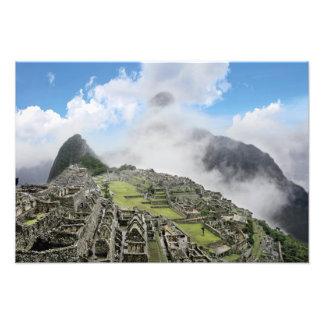 Peru, Machu Picchu, the ancient lost city of 3 Photograph