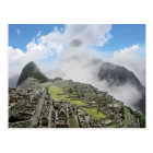 Peru, Machu Picchu, the ancient lost city of 4 Postcard