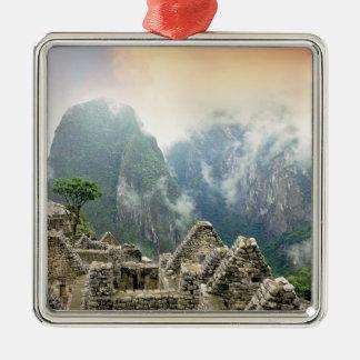 Peru, Machu Picchu, the ancient lost city of Christmas Ornament