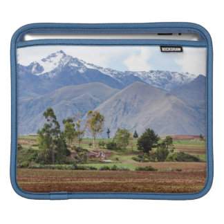 Peru, Maras. Landscape Above The Sacred Valley iPad Sleeve