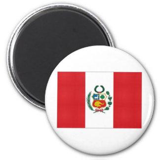 Peru National Flag Magnet