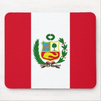 Peru National Flag Mouse Mat
