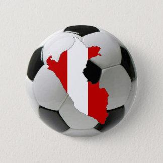 Peru national team 6 cm round badge