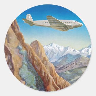 Peru of The Incas Classic Round Sticker