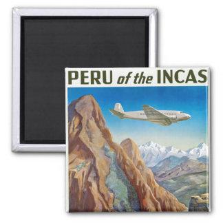 Peru of The Incas Magnet