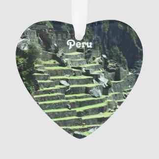 Peru Ruins Ornament