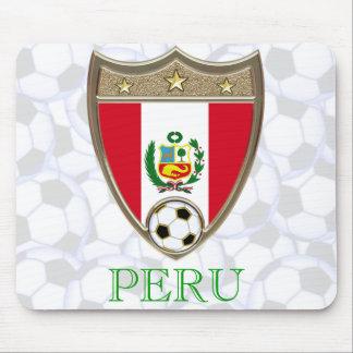 Peru Soccer Mouse Pad