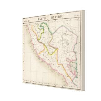 Peru, South America 20 Canvas Print