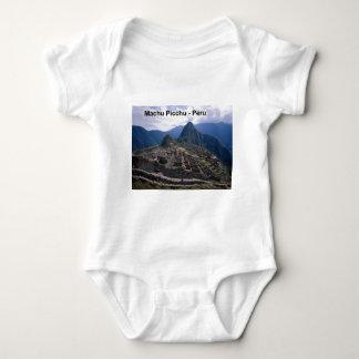 Peru The Ruins of Machu Picchu (St.K.) Baby Bodysuit