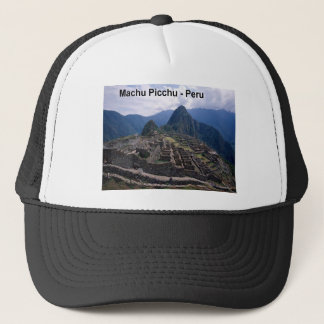 Peru The Ruins of Machu Picchu (St.K.) Trucker Hat