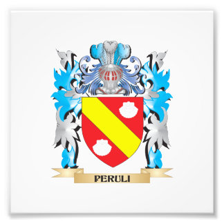 Peruli Coat of Arms - Family Crest Photo Art
