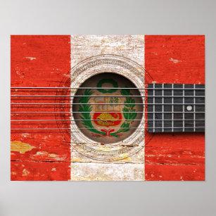 Peruvian Flag Art Amp Wall D 233 Cor Zazzle Co Uk