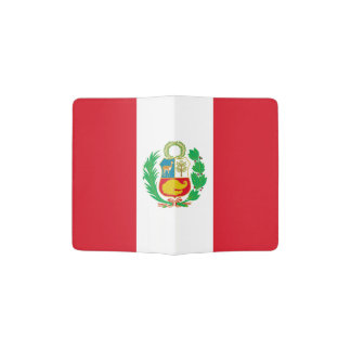 Peruvian flag passport holder