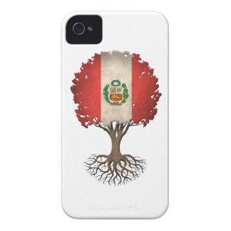 Peruvian Flag Tree of Life Customizable iPhone 4 Cases