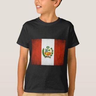 Peruvian Flag with Emblem Tees