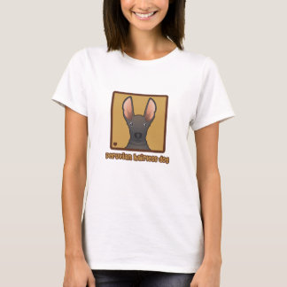 Peruvian Hairless Dog Cartoon T-Shirt