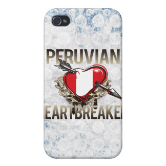 Peruvian Heartbreaker Cover For iPhone 4