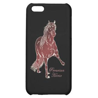 Peruvian Horse Woodcut iPhone 5C Covers