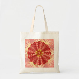 Peruvian Lily Mandala Tote Bag