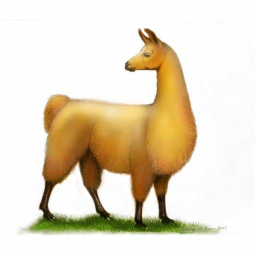 Peruvian Llama Holiday Ornament Photo Cutout Zazzle