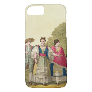 Peruvian Men and Women in Traditional Costume (col iPhone 8/7 Case