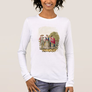 Peruvian Men and Women in Traditional Costume (col Long Sleeve T-Shirt
