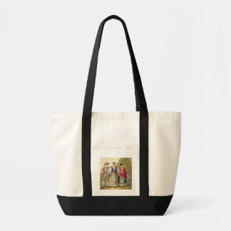 Peruvian Men and Women in Traditional Costume (col Tote Bag