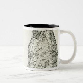 Peruvian Mummies Two-Tone Coffee Mug