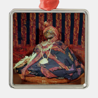 Peruvian mummy from the Paracas cemetery Christmas Ornament