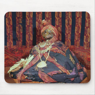 Peruvian mummy from the Paracas cemetery Mouse Mat
