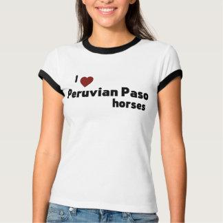 Peruvian Paso horses T-Shirt