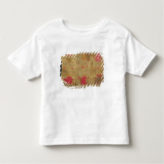 Peruvian shroud; cotton and vicuna brocaded toddler T-Shirt