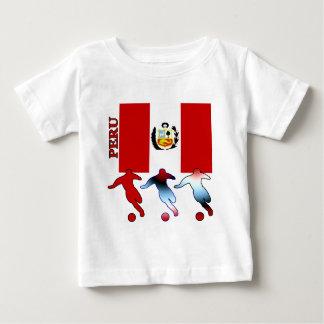 Peruvian Soccer Players Infant T-Shirt
